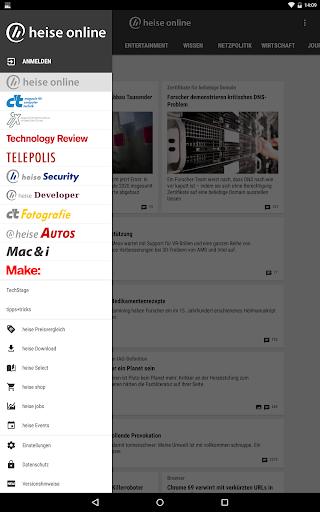 heise online - News 3.4.2 screenshots 15