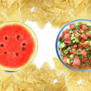 Watermelon Salsa with Mint