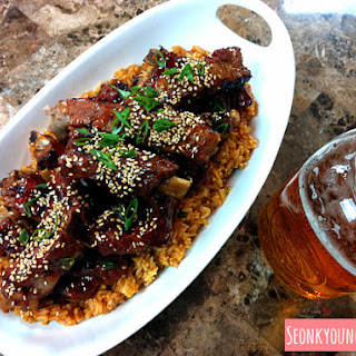 Chinese Style Sticky BBQ Ribs