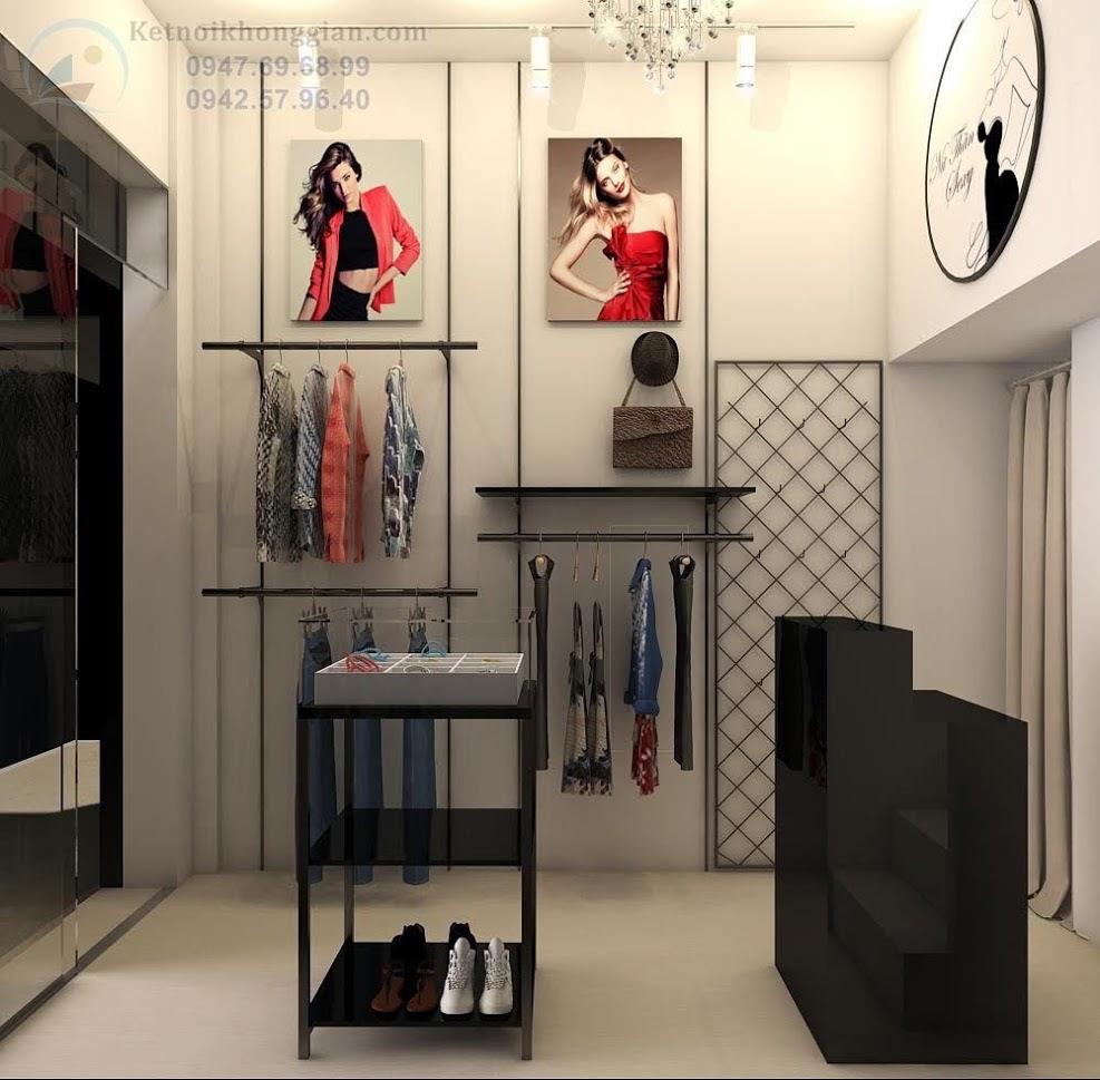 thiết kế shop thời trang nữ cao cấp tại hà nội