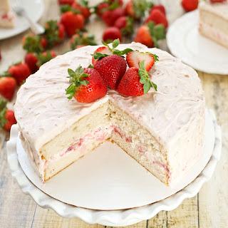 Strawberry Dream Layer Cake.