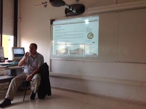 Photo: Rafel Roset ens parla sobre la georeferenciació i la geolocalització, eines de la geografia