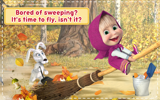 Masha and the Bear: House Cleaning Games for Girls  screenshots 16