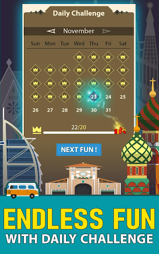 Solitaire Landmark: Brained Out Puzzle Card apkmind screenshots 14