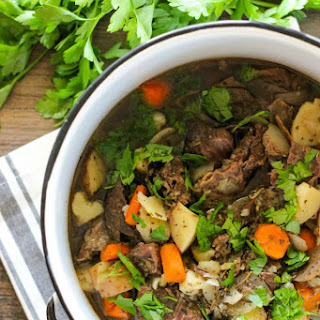 Clean Eating Slow Cooker Beef Stew