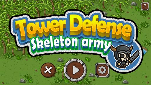 Tower Defense - Skeleton army screenshot 1