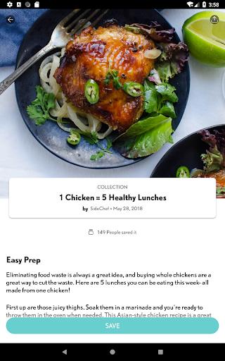 SideChef: 18K Recipes, Meal Planner, Grocery List 4.7.3 Screenshots 21