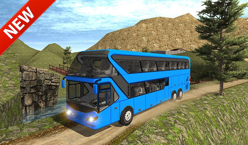Uphill offroad bus driving sim 1.0.8 screenshots 19