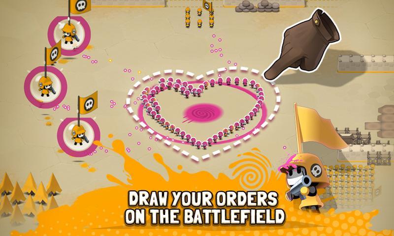 android Tactile Wars Screenshot 11