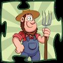 Old MacDonald's farm Puzzles icon