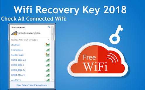 Wifi Key Recovery(Wifi Password Recovery) - náhled