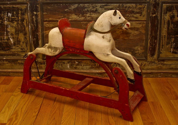Antique Hobby Horse from 1894. Photo: Tannersville Antiques and Artisan's Center