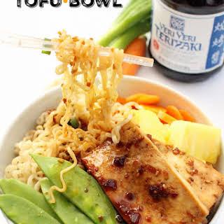 Teriyaki Tofu Bowl.
