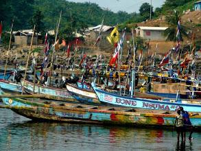 Photo: #Dixcove harbour #Africa #Ghana #Akwidaa #Busua http://www.ezilebay.com/ http://busuainn.com/ http://olivbusua.blogspot.com/