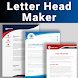 Letterhead Maker Business letter pad template Logo - Androidアプリ