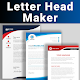 Letterhead Maker Business letter pad template Logo Download on Windows