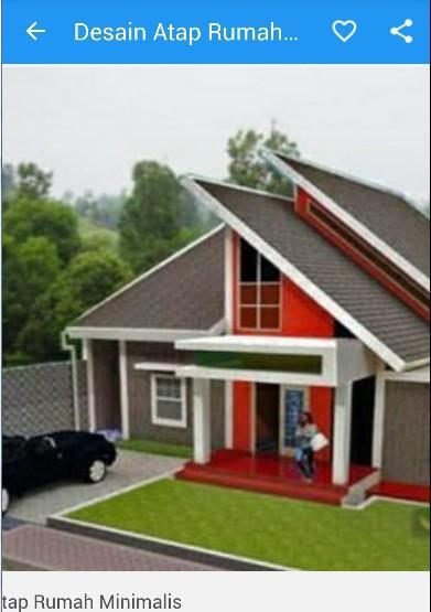 desain atap rumah minimalis screenshot