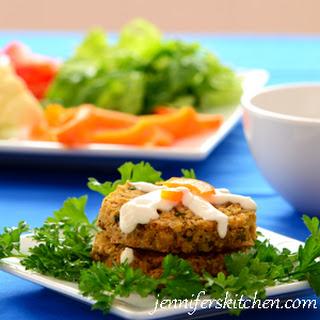 Cauliflower Rice Patties