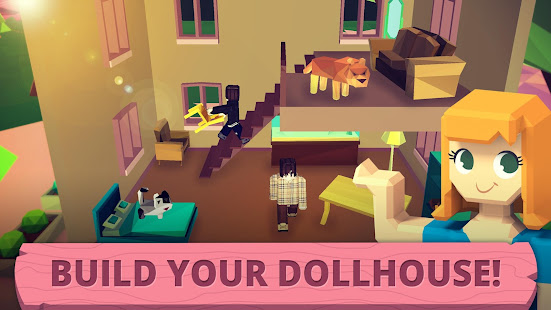 my little dollhouse craft design game for girls apps on google play