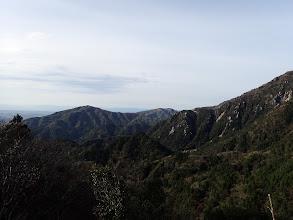 雲母峰方面