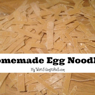 Egg Noodle Dishes Recipes