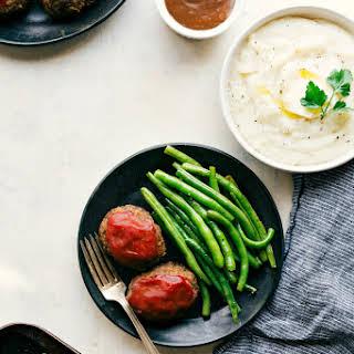 One Pan Meatloaf Dinner.