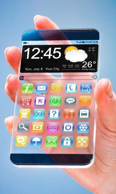 #7. Transparent Screen Wallpaper (Android)