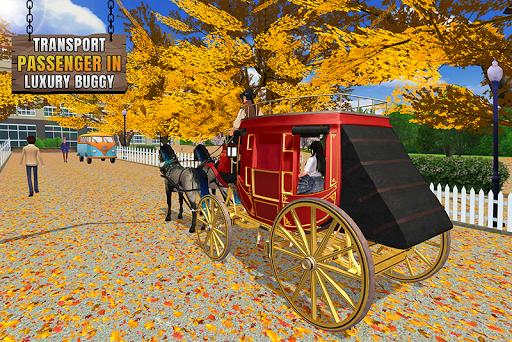 Flying Horse Taxi Transport en ville  captures d'u00e9cran 1