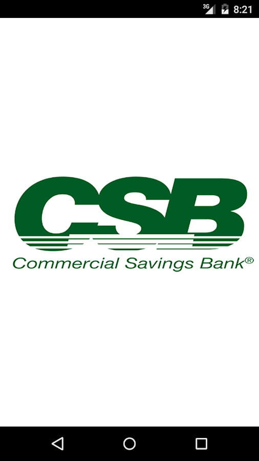 Commercial Savings Bank Android Apps On Google Play