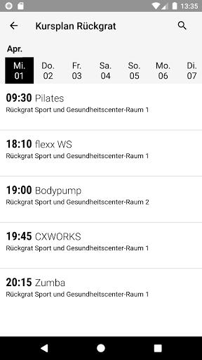 Ru00dcCKGRAT Fitness Loft 4.46 screenshots 3