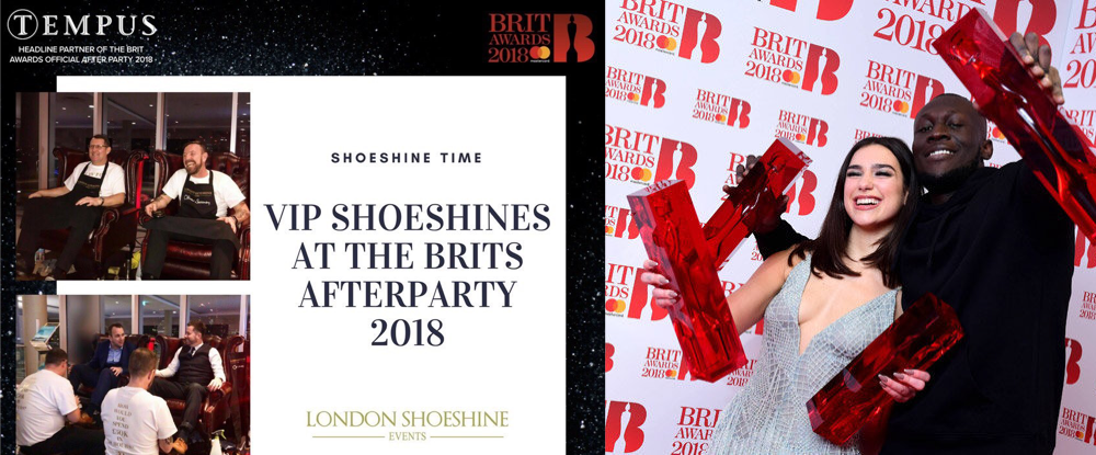 London Shoeshine at the Brits