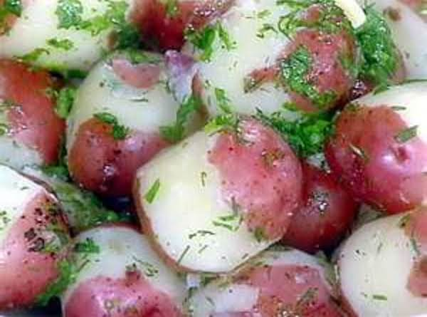 Parsley Red Potatoes By Freda Recipe