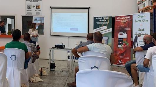 Vellsam celebra una jornada técnica formativa para 30 agricultores de Almería