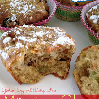 Morning Glory Muffins - Gluten & Dairy Free