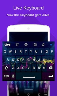 Live Keyboard Animation Emoji - náhled
