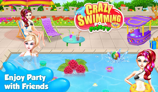 Crazy Swimming Pool Party
