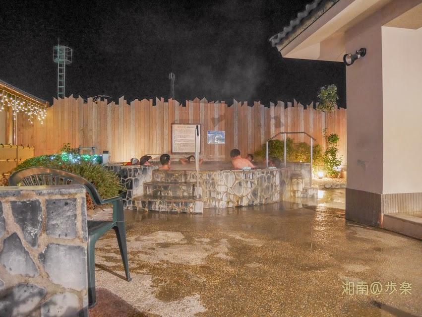 瀬谷目黒の湯 細泡の湯 2017年12月13日 夜景
