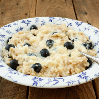 Blueberry Cheesecake Oatmeal Recipe