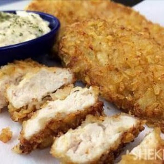 Salt- And Vinegar-crusted Chicken.
