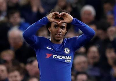 """Willian veut rester à Chelsea """"jusqu'à ses 40 ans"""""""