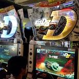Initial D8, best arcade game in Tokyo in Tokyo, Tokyo, Japan