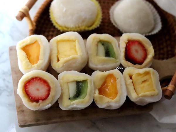 咖芳工作室~令人驚豔的鳳梨大福/草莓大福/希臘雪球/手工餅乾 - ifunny 艾方妮的遊樂場