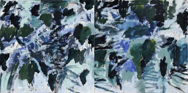 <p> <strong>Study: Broken Ice</strong><br /> Oil on canvas<br /> 30&rdquo; x 60&rdquo; diptych<br /> 2020<br /> &nbsp;</p>