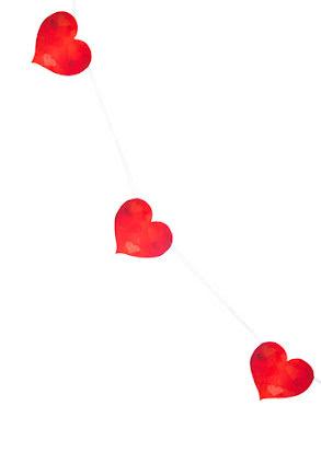 Girlang, hjärta
