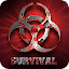 zombie comando shooting icon