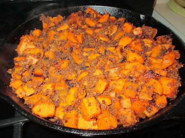 Chorizo And Sweet Potato Hash Recipe