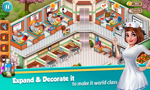 Doctor Dash : Hospital Game Screenshot