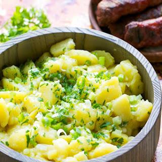 Lightened Up Potato Salad Recipe {Vegan+Gluten Free}