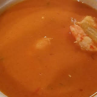 Spicy Coconut Shrimp Bisque.