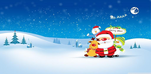Enjoy Christmas music and sing along with this Ten popular Christmas songs.